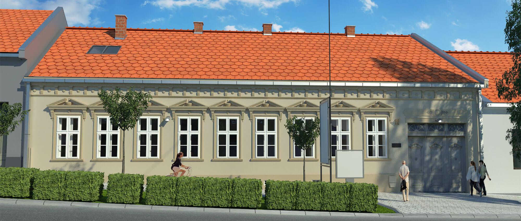 Galerija Save Šumanovića u Šidu (projekat rekonstrukcije)