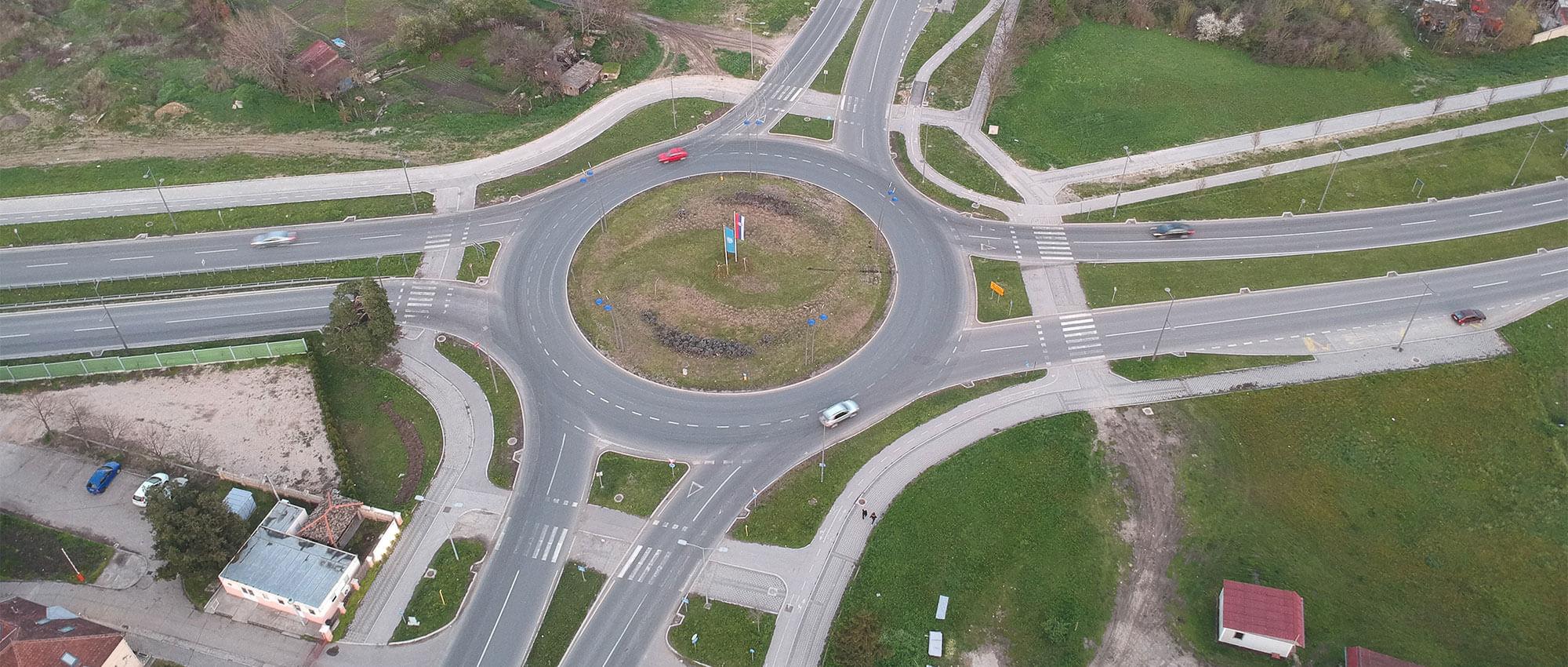 Raskrsnica Rumenačkog puta (R 102) i bulevara Evrope (projektovanje)