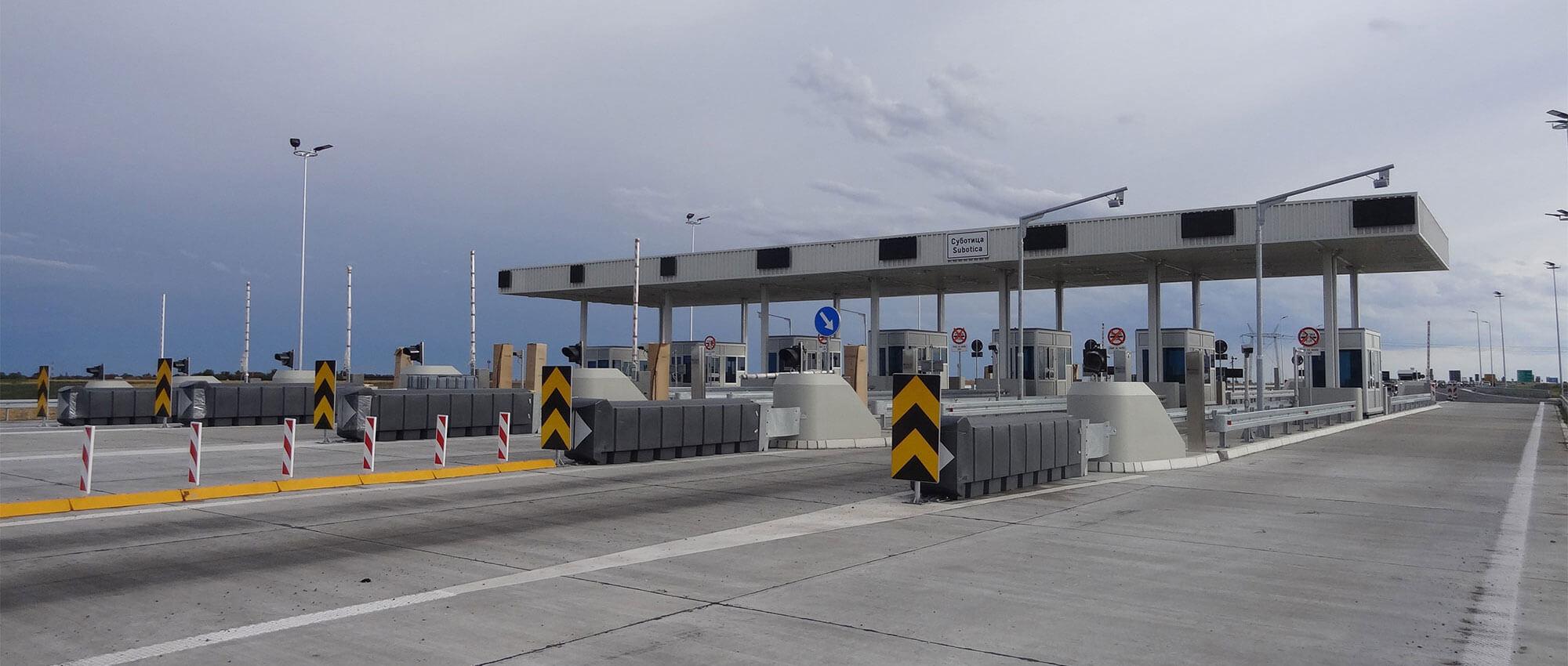 Čeona naplatna stanica, Subotica - Projektovanje